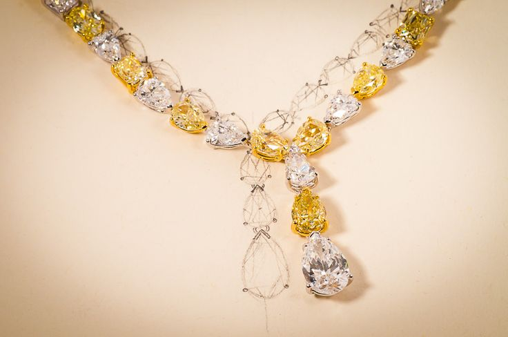customised diamond, diamond necklace