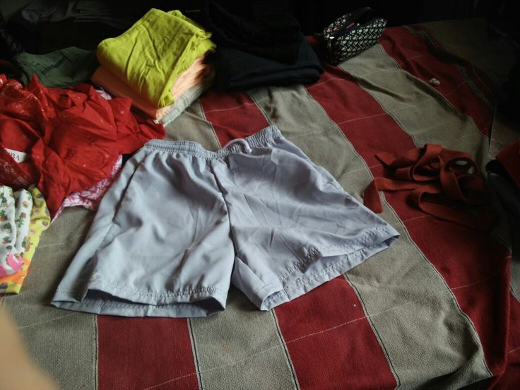 Need a sporty look ...go  and try out this decathlon grey shorts