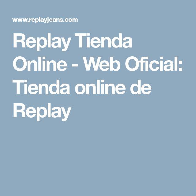 Replay Tienda Online - Web Oficial: Tienda online de Replay