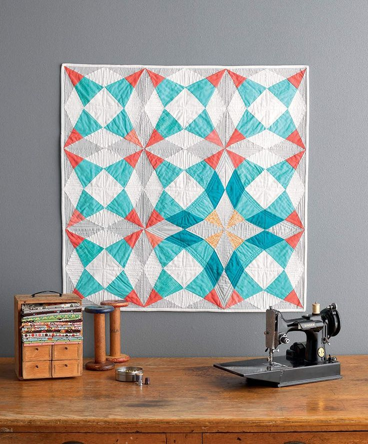 Cut Glass Baby Quilt