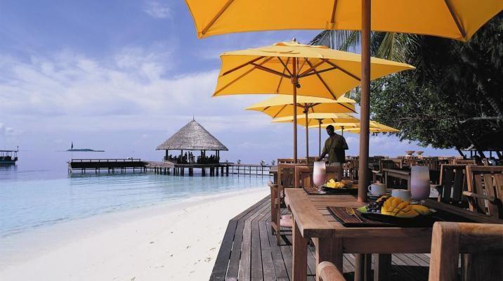Restauranten på Angsana Ihuru, Maldiverne