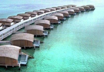 Солнечный курорт Finolhu Villas на Мальдивах