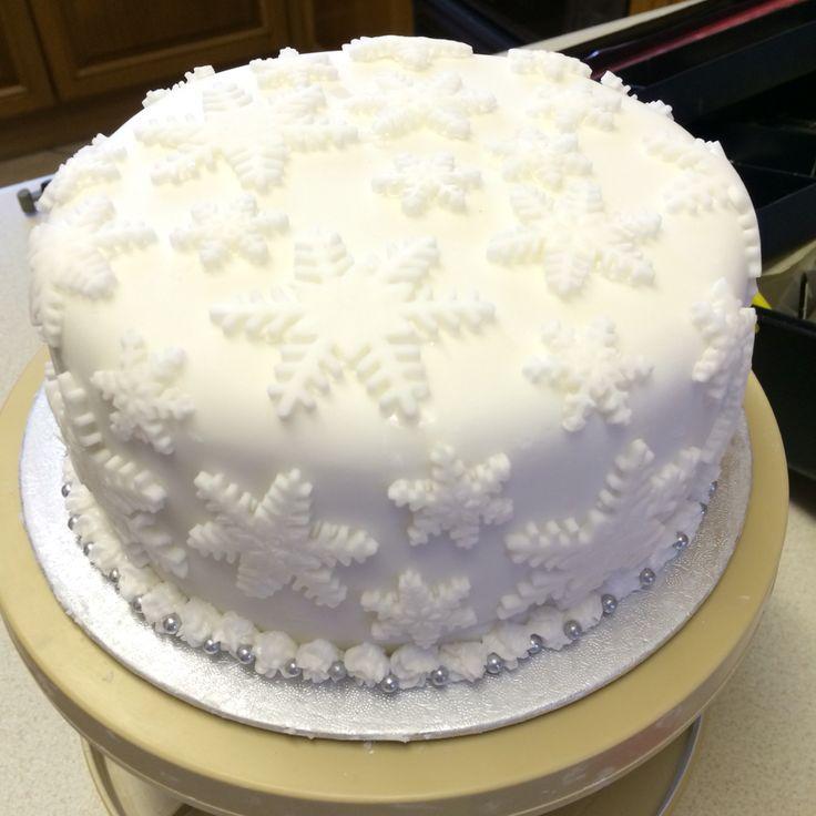 My Christmas cake 2015!