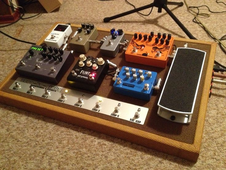 diy pedal board bradley in 2019 pedalboard guitar effects pedals guitar. Black Bedroom Furniture Sets. Home Design Ideas