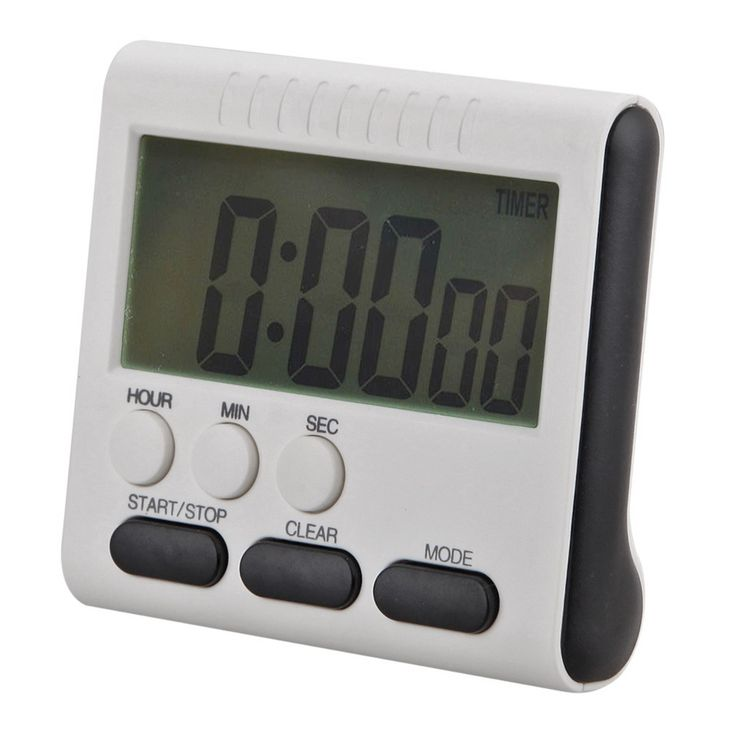 2017 new Magnetic Large LCD Digital Kitchen Timer with loud Alarm Count Up& Down Clock to 24 Hours 78x73x25MM