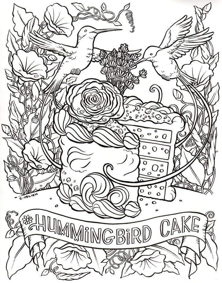 Free Printable Pictures Of Hummingbirds | Free Printable |Hummingbird Nest Coloring Page