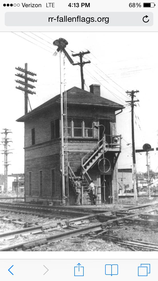 Illinois central railroad.                                       Gibson city tower