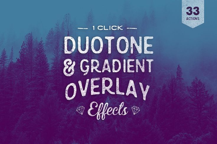 Duotone Photoshop Actions by skyboxcreative on @creativemarket