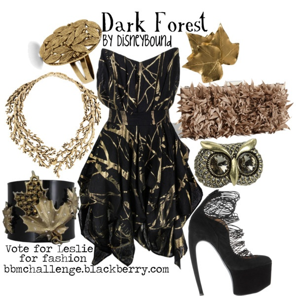 Dark Forest. Whoa, this one is sweet... but how exactly do you wear those shoes???