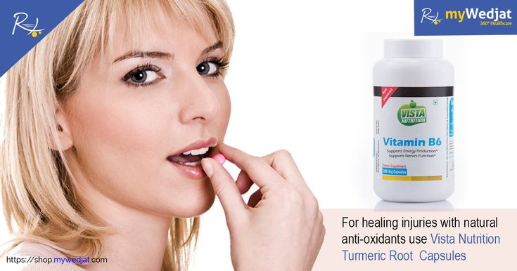 For healing injuries with natural anti-oxidants use Vista Nutrition Turmeric Root  Capsules  #myWedjat #HealingInjuries