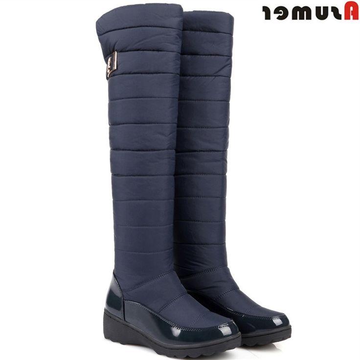 32.92$  Buy here - https://alitems.com/g/1e8d114494b01f4c715516525dc3e8/?i=5&ulp=https%3A%2F%2Fwww.aliexpress.com%2Fitem%2FASUMER-Plus-size-35-44-keep-warm-snow-boots-platform-winter-botas-ladies-thick-fur-knee%2F32754567522.html - ASUMER Plus size 35-44 keep warm snow boots platform winter botas ladies thick fur knee high boots warm thigh high ladies shoes