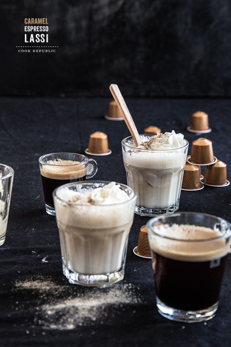 Join Me For Coffee Recipes... Caramel Espresso Lassi (1) From: Cook Republic, please visit