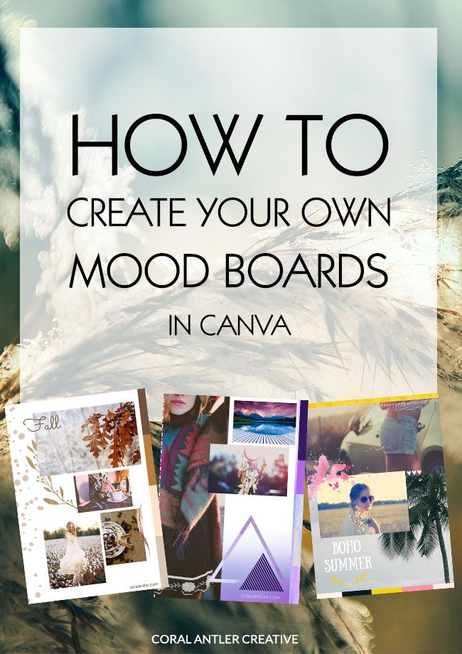 17 Best Images About Mood Boards On Pinterest Brand