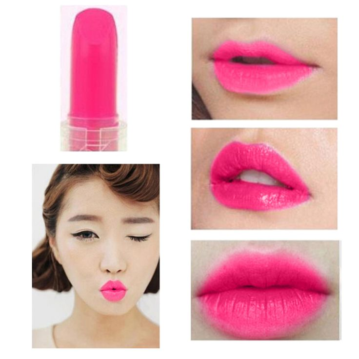 1pc 14 Colors Mini Waterproof Lipstick Lip Gloss Lip Balm Nutritious Long Lasting Nude Lip Stick Cosmetic Makeup Beauty Tools #Affiliate