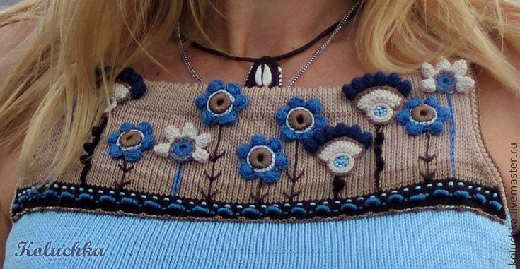 Статкевич Елена (Koluchka). Irish crochet. Freeform. Motifs. Dress. Pink…
