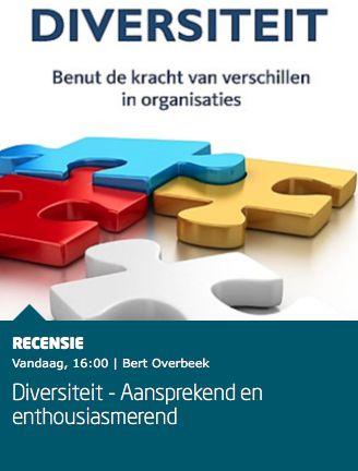 """Mooie recensie over het boek 'Diversiteit' van Bert Overbeek bij Managementboek: """"De praktijk toont aan dat het in de managementlagen niet best gesteld is met de diversiteit. Niet iedereen krijgt dezelfde kansen, hetgeen te wijten valt aan onbewuste mechanismes. Diversiteit is een transparant en helder boek dat menige organisatie kan helpen beter te functioneren."""" #diversiteit #bertoverbeek #mgtboeknl #futurouitgevers"""