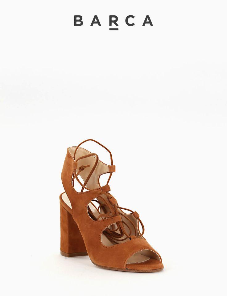 #Sandalo #tacco 80, fondo gomma e soletto in vera pelle, tomaia in morbido #camoscio con punta stondata, tomaia costruzione con laccetto di chiusura in pelle e tallone aperto.  COMPOSIZIONE FONDO GOMMA, SOLETTO VERA PELLE  CARATTERISTICHE Altezza tacco 8 cm  COLORE #CUOIO  MATERIALE CAMOSCIO  #shoes #heels #tacchi #sandali #springsummer #scarpe #newcollection #nuovacollezione #fashion #fashionblogger