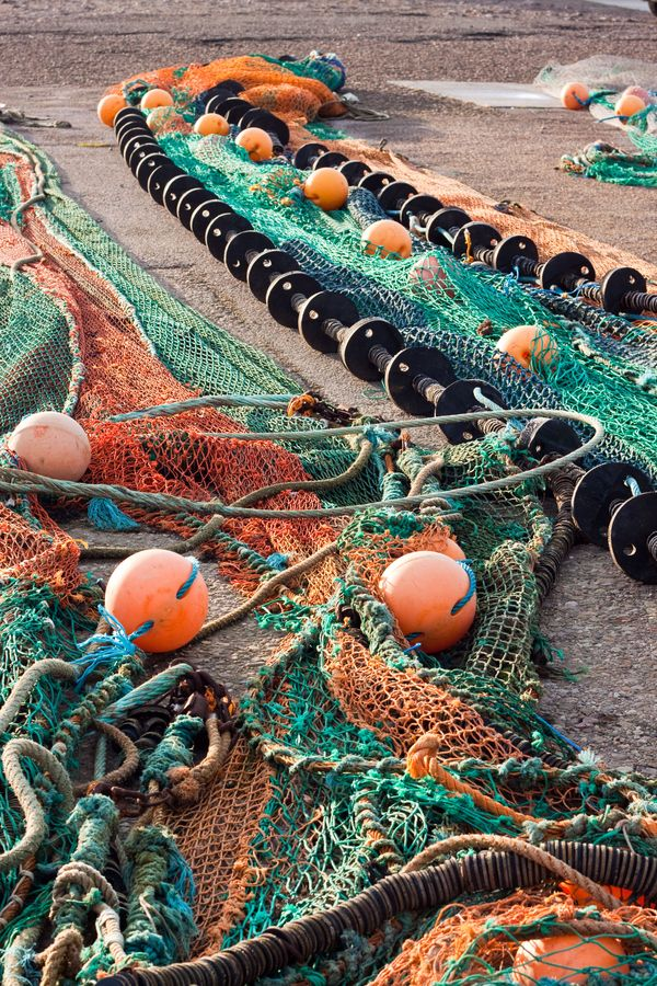 fishing nets...scotland