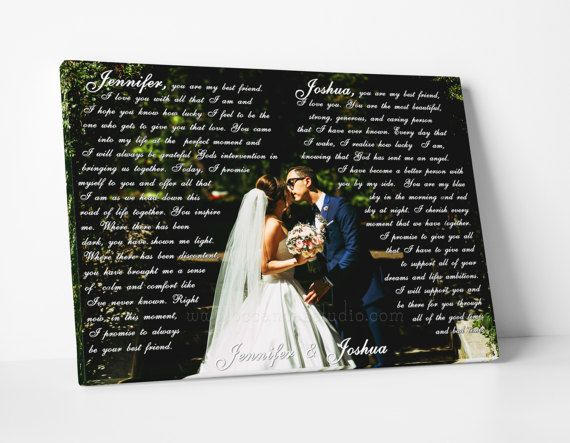 Customized canvas print Photo with First Dance by OCCanvasStudio
