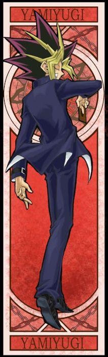 Yami Yugi Tarot style <3