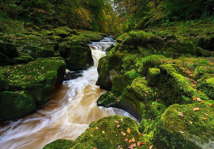 Amazing River Wharfe Travel 2016 England