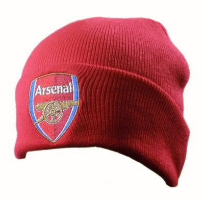 ARSENAL FC Knitted Hat. Adults - One size fits all. Official Licensed Arsenal FC Gift. FREE DELIVERY ON ALL OF OUR GIFTS