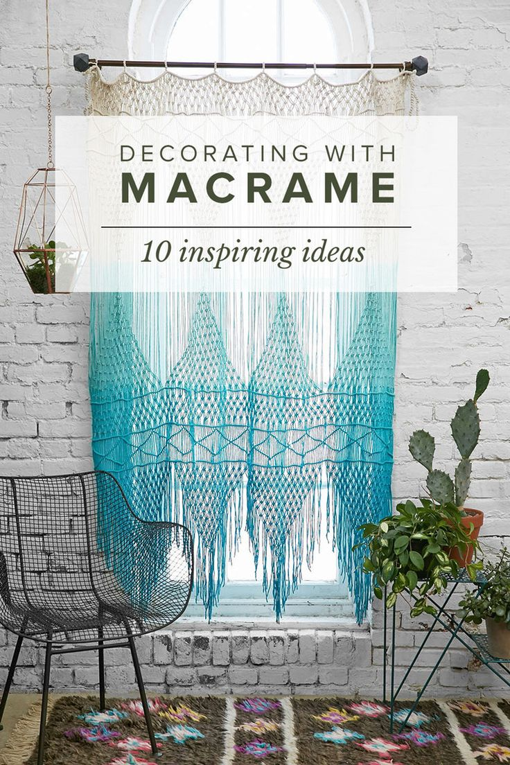 10 inspiring ideas for using Macrame in home decor