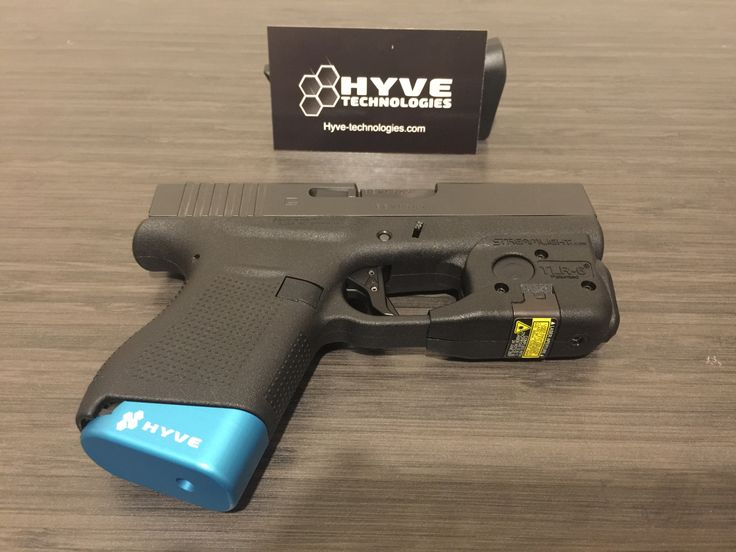 Glock 43, Agency Arms trigger, Streamlight TLR-6, HYVE slide cover plate and mag base plate.