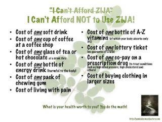 You can't put a price on your health... ZIJA is ALL natural... Learn more www.workfromhome.myzija.com or email me at gmfreedom90@gmail.com