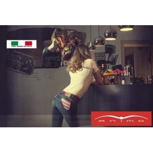 """Supersnygg jeansridbyxa """"Nashville"""" från Animo med amerikanska flaggan på fickorna. www.aleridsport.se"""