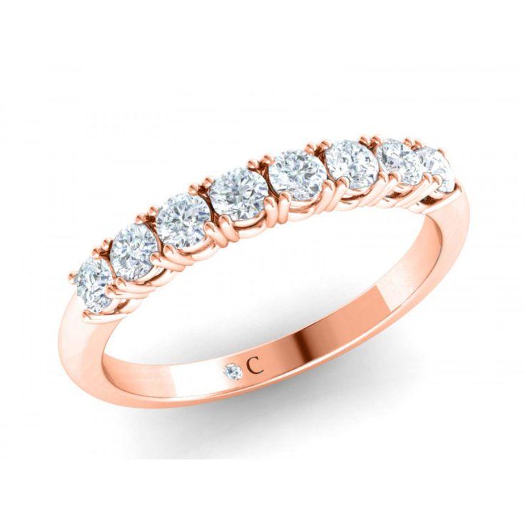Rose Gold Wedding Band | Diamond Corporation South Africa