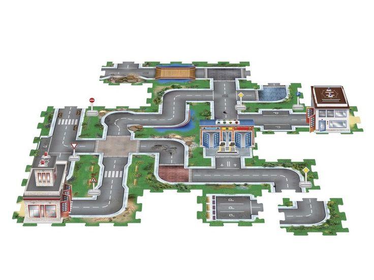 3D puzzel of bodempuzzel