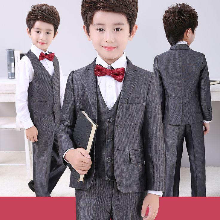 Boys suits dress wear tuxedo trajes de bodas para blazer nino terno infantil menino casamento costume mariage jogging gardcon
