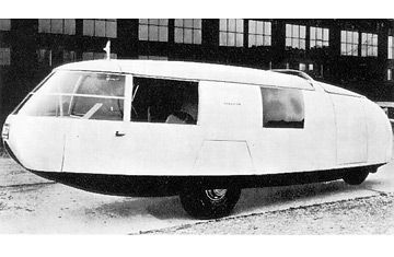 Designer-genius R. Buckminster Fuller was one of the century's great nutjobs, a walking unorthodoxy who originally conceived of the Dymaxion as a flying automobile, or drivable plane, with jet...