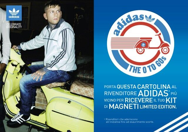 adidas and Vespa join forces in Italy