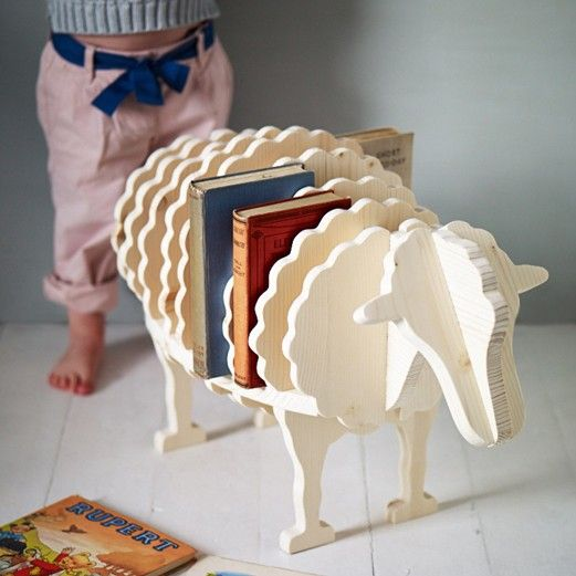 Baa-Baa Book Shelf - Made with love by grandpa