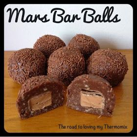 The road to loving my Thermomix: Mars Bar Balls