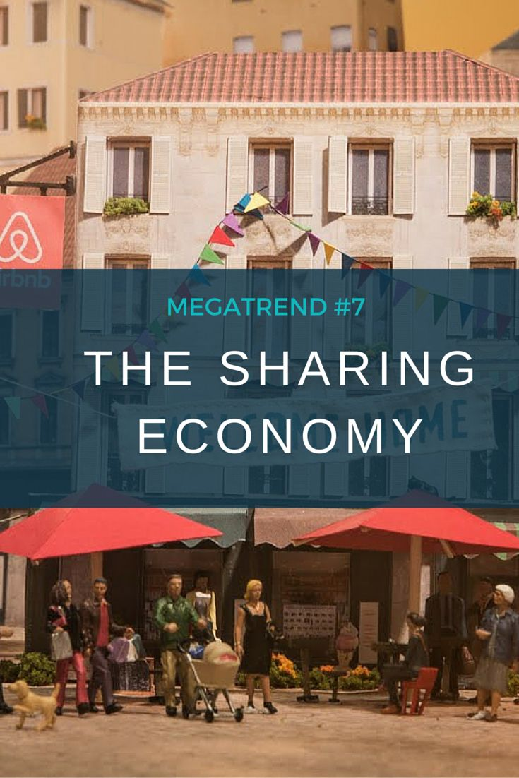 This sharing economy is changing the way people buy goods and services around the world.