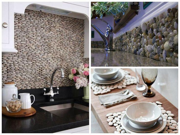 Галька очень часто встречается в современных интерьерах. Ее разнообразные формы, размеры, приятная шероховатая и гладкая текстура, блеск и естественный цвет хорошо подходит для декора помещения. На сегодняшний день ней украшают стены, полы и даже делаю оригинальные коврики. Галька экологичный и недорогой материал, которым без затруднения можно создать природный уголочек в доме. Она станет прекрасным элементом декора в вашем доме.   #строители #поиск_строителей_украины