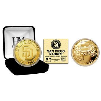 San Diego Padres Collectible Gold Coin