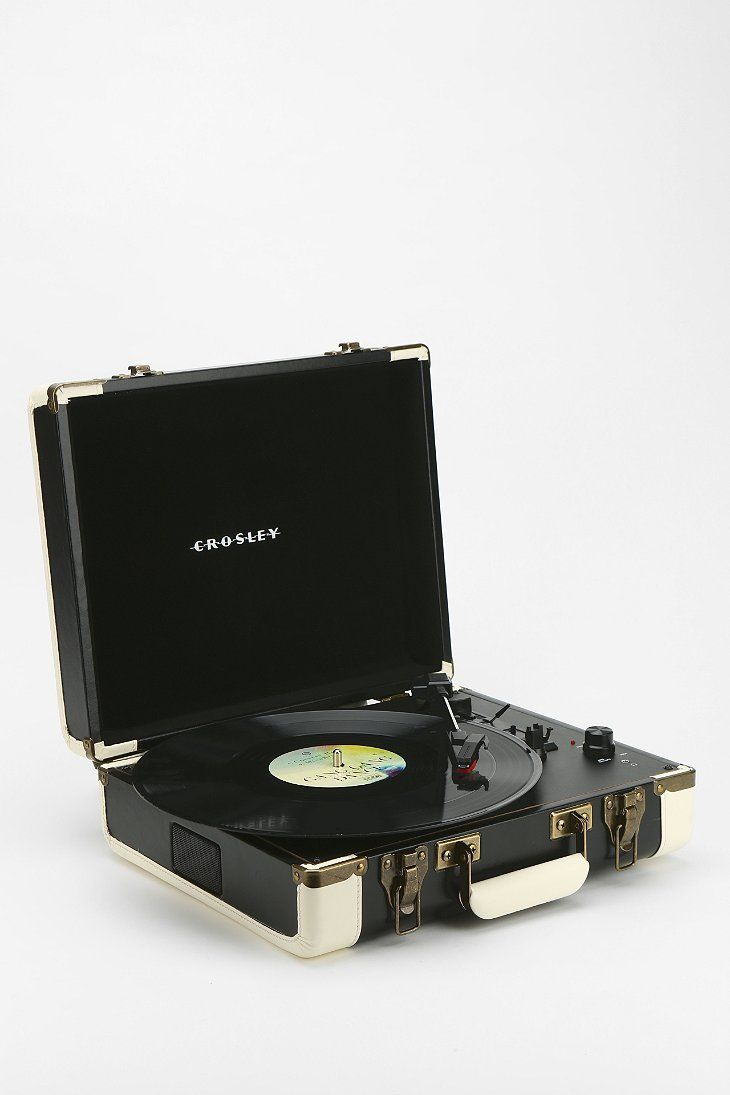 Need to get one of these record players that convert LPs to digital! Crosley Executive USB Portable Record Player via UrbanOutfitters