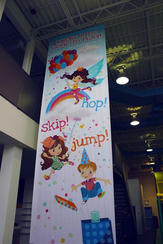 Kids Indoor Playground Banner design by New Design Group