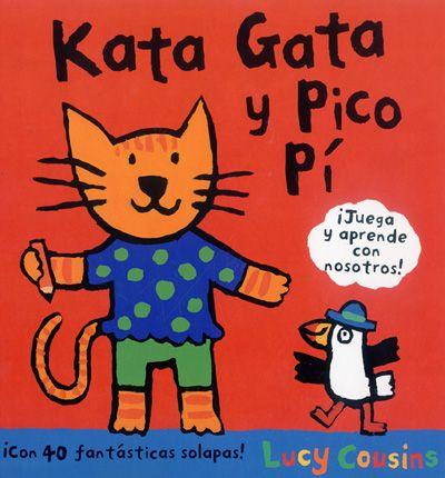 Kata Gata y Pico Pí son dos simpáticos animales con los que los más pequeños aprenderán los colores, los números, algunas comidas y muchas cosas más. Todas las respuestas están escondidas detrás de divertidas solapas...