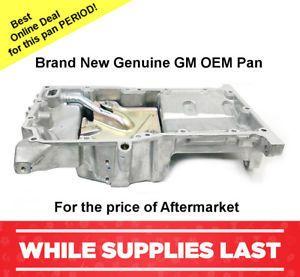 Brand New GM OEM Oil Pan 2.2L/2.4L  2005-2010 CHEVROLET COBALT ...