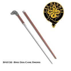 Paul Chen Bird Dog Sword Cane by CAS Hanwei