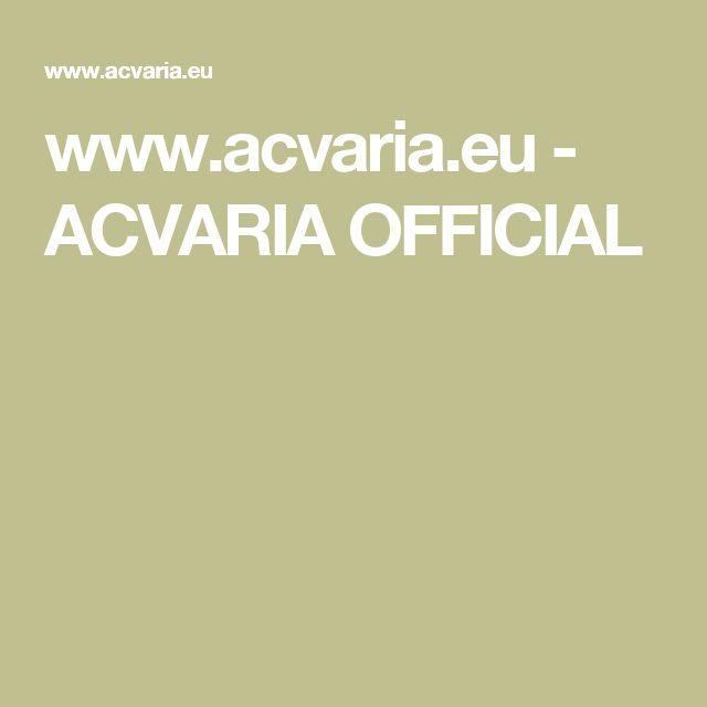 www.acvaria.eu - ACVARIA OFFICIAL