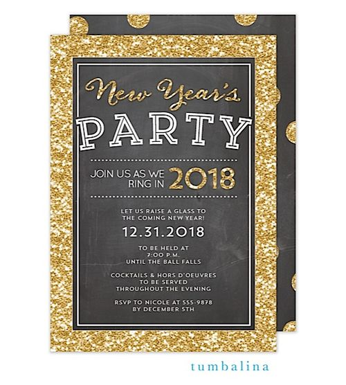 25 best New Years Eve Invitations images on Pinterest | New years