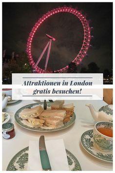 London, die Hauptstadt von England, ist teuer. Besuche die Attraktionen kostenlos oder günstig mit den Tipps!