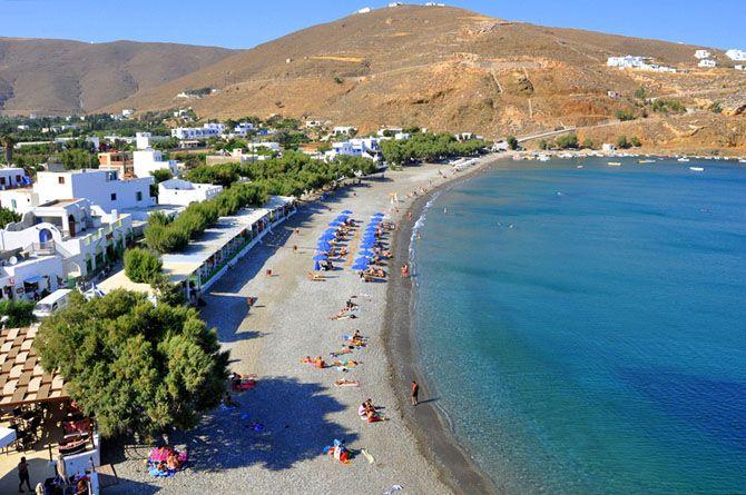 Beach Livadi Astypalaia Island Dodecanese