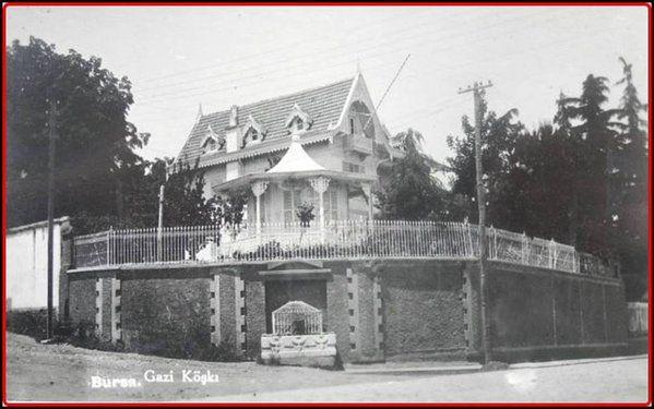 Bursa-Gazi Köşkü-1936